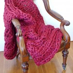 (GAllery) Rustic red throw