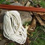 (Gallery) Giant needles and felted wool rope