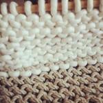 (Gallery) Hemp and wool rope knitting