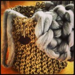 (Gallery) MAnila soft basket and wool roving
