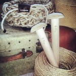 (Gallery) Utility Basket and Timber 40mm custom made needles