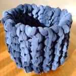 (Gallery) mega soft navy basket