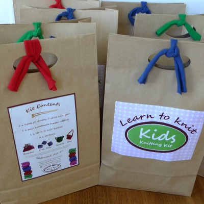 Kids Learn to Knit Kits