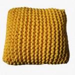 (gallery)yellow cotton cushion