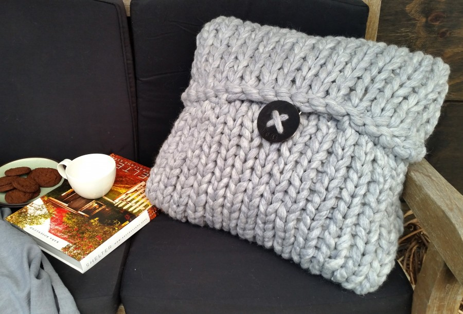 OPTION 3 1 Kilo Knitted Cushion Cover